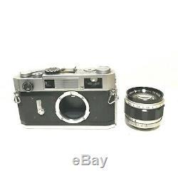 Canon 7SZ 7S Z Rangefinder 50mm f/1.4 LENS SCREW LTM MOUNT LEICA From JAPAN