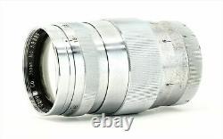 Canon 85mm f1.9 Leica Screw Mount LTM L39 Vintage Lens From Japan Rangefinder VG