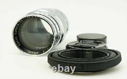 Canon 85mm f/2 MF Vintage Lens Leica Screw Mount L39 LTM from Japan Excellent