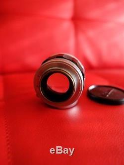 Canon LTM 50mm f/1.4 Leica L39/M39 mount lens comes with 2 caps 50/1.4