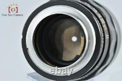 Canon Lens 100mm f/2 L39 LTM Leica Thread Mount