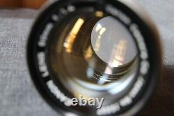 Canon Lens 50mm/F1.4 Leica 39mm mount 15697