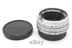 Canon M39 L39 LTM Leica Screw Mount 28mm f2.8 Lens Near MINT from JAPAN 1017N