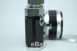 Canon P Rangefinder Film Camera leica mount + 50mm f1.2 Lens Excellent+++ JAPAN