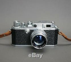 Canon Rangefinder IID 35mm Leica Mount Camera+ f/1.8 50mm lens & case Near Mint