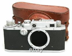 Canon S-II 35mm Film Range Finder Camera. Leica L39 Lens Mount