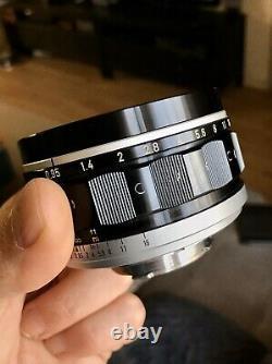 Canon TV 50mm 0.95 Dream Lens Leica M Mount Modified