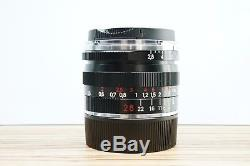 Carl Zeiss 28mm F2.8 Biogon T ZM Leica M Mount Wide Angle Prime Lens -BB