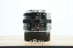 Carl Zeiss 50mm F1.5 C Sonnar T ZM Leica M Mount Prime Portrait Lens -BB-