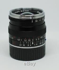 Carl Zeiss Biogon 35mm f/2 T ZM for Leica M mount Mint Condition BOXED