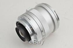 Carl Zeiss Biogon T 25mm F2.8 ZM Silver for Leica M Mount #181107o