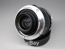 Carl Zeiss Biogon T 28mm f/2.8 ZM Lens, Black, for Leica M Mount Rangefinder