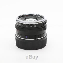 Carl Zeiss C Biogon T 35mm F2.8 ZM (for Leica M mount) Black