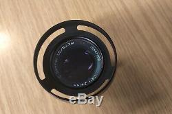 Carl Zeiss C Sonnar T 1.5/50mm 50mm f1.5 ZM near Mint condition Leica mount
