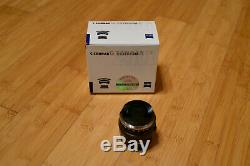 Carl Zeiss C Sonnar T 50mm F1.5 ZM Black (for Leica M mount)