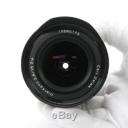 Carl Zeiss Distagon T 15mm F2.8 ZM (for Leica M mount)