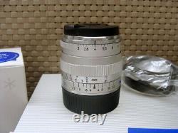 Carl Zeiss Objektiv Biogon T 12.0/35mm ZM silver Leica M-mount OVP