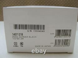 Carl Zeiss Objektiv C Sonnar T 11.5/50mm ZM Black Leica M-mount OVP