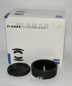 Carl Zeiss Planar 2 / 50 mm ZM, T, Leica M mount, OVP, noch Garantie