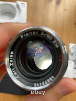 Carl Zeiss Planar T 2/50 ZM M-mount rangefinder lens for Zeiss Ikon/Leica