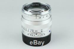 Carl Zeiss Planar T 50mm F/2 ZM Lens for Leica M Mount #19160 F2
