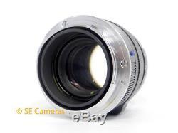 Carl Zeiss Planar T Zm 50mm F2 Fast Prime Leica M Mount Lens Mint Condition