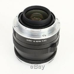 Carl Zeiss Planar ZM 35mm f2 (Black) Leica M Mount Lens w Hood LN