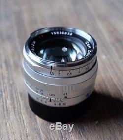 Carl Zeiss Sonnar C T 50mm F/1 5 Zm Lens For Leica M-mount