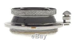 Chrome Leica Elmar f=3.5 cm 13.5cm screw mount Leitz lens in red box 3.5/35mm