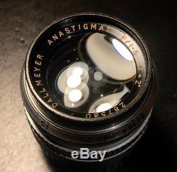 Dallmeyer Pre Septac Anastigmat 50mm F1.5 Leica M Mount Angenieux Kinoptik Cooke