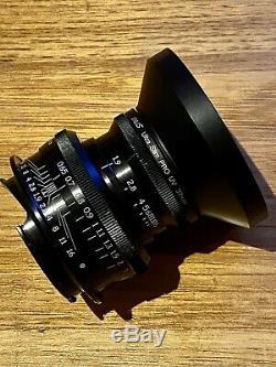 Dallmeyer Super Six 38mm F1.9 Cine Lens Leica M Mount 50mm 35mm Angenieux Cooke