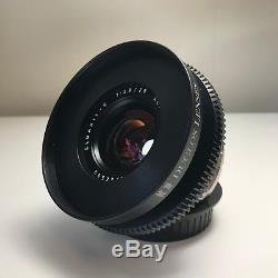 Duclos Cinemodded Leica ELMARIT-R 28mm f/2.8 #2726589 (EF Mount)