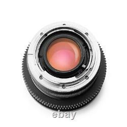 Duclos Leica R 50mm F1.4 SUMMILUX V2 Cinevised in Canon EF/EOS mount