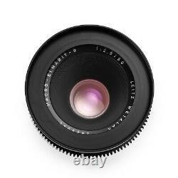 Duclos Leica R 60mm F2.8 Macro-Elmarit-R Cinevised in Canon EF/EOS Mount