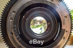 EF Mount Leica Leitz R 19mm 2.8 Cine Lens vii v2 ver ii FF full frame Scratches