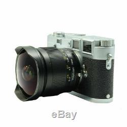 EU SHIP TTartisan 11mm f/2.8 FishEye LEICA-M mount Full-Frame Lens TTartisans