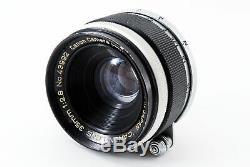 EXCELLENT+ Canon 35mm f/2.8 LTM L39 Leica Screw mount (1751)