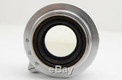 EXCELLENT Canon 50mm F1.5 MF Lens for Leica L39 Screw Mount #190813b