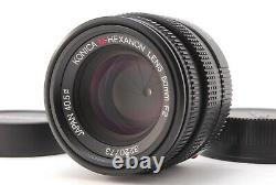 EXCELLENT+Konica M-HEXANON 50mm f/2 Leica M Mount Lens from Japan (410-E432)
