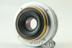 EXC+3Canon 28mm F/2.8 LTM L39 Leica Screw mount Lens From Japan #307