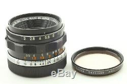 EXC+4 Canon 35mm f/2 Lens For Leica L Screw Mount L39 LTM From JAPAN #108