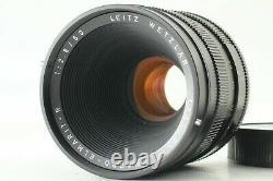 EXC+4 LEICA LEITZ MACRO-ELMARIT-R 60mm f/2.8 3CAM Leica R mount from Japan 576