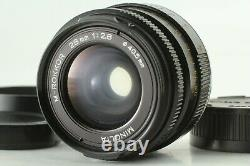 EXC+4 MINOLTA M-ROKKOR 28mm f2.8 Leica M mount Lens CL CLE w / Hood From JAPAN