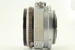 EXC+5 CANON 35mm F/1.8 Lens Leica Screw Mount LTM L39 from JAPAN #1055