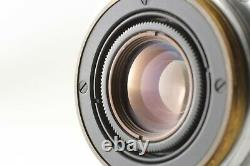 EXC+5 Canon 28mm f/3.5 Lens LTM L39 Leica Screw Mount From JAPAN #282