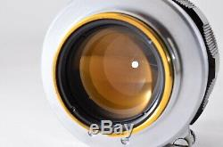 EXC+5 Canon 50mm F1.4 L39 Leica Screw Mount LTM MF Lens + Hood from JAPAN 864Y