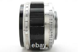 EXC+5 Canon 50mm f/1.2 Leica Screw Mount LTM L39 from JAPAN by DHL #1550