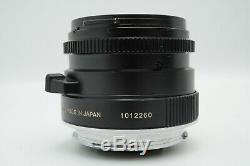 EXC+5 Minolta M-Rokkor 28mm F/2.8 Leica M Mount for CL CLE with Hood from Japan