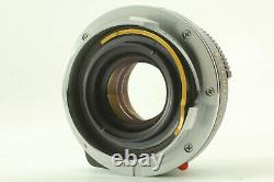 EXC+5 Minolta M Rokkor 40mm f2 Lens Leica M Mount For CL CLE From JAPAN #64