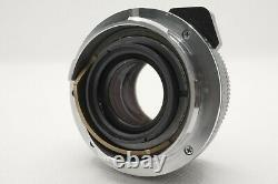 EXC+5 Minolta M-Rokkor QF 40mm f/2 Lens For CLE CL Leica M Mount From Japan